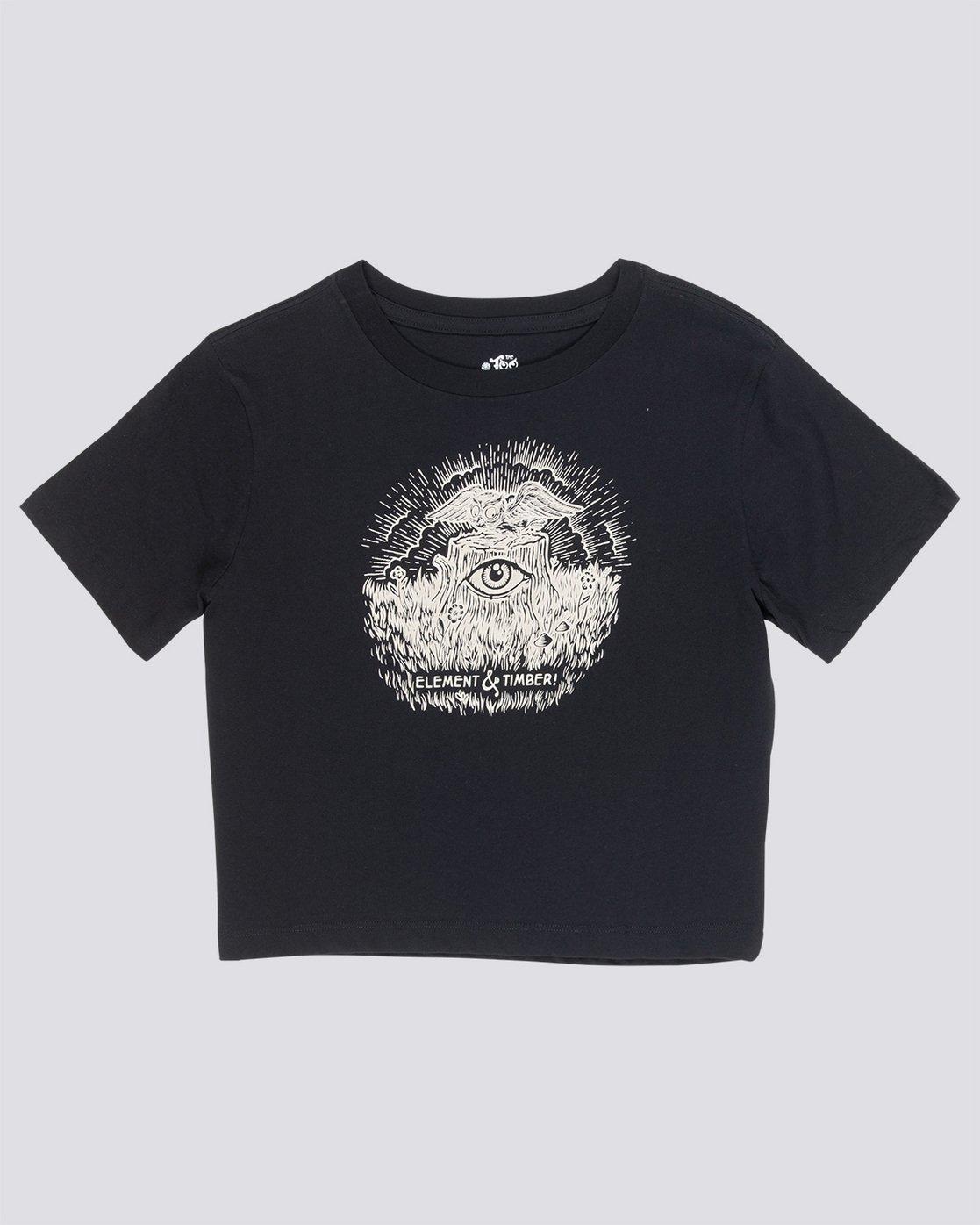 Timber - T-Shirt croppé pour Femme Q3SSA2