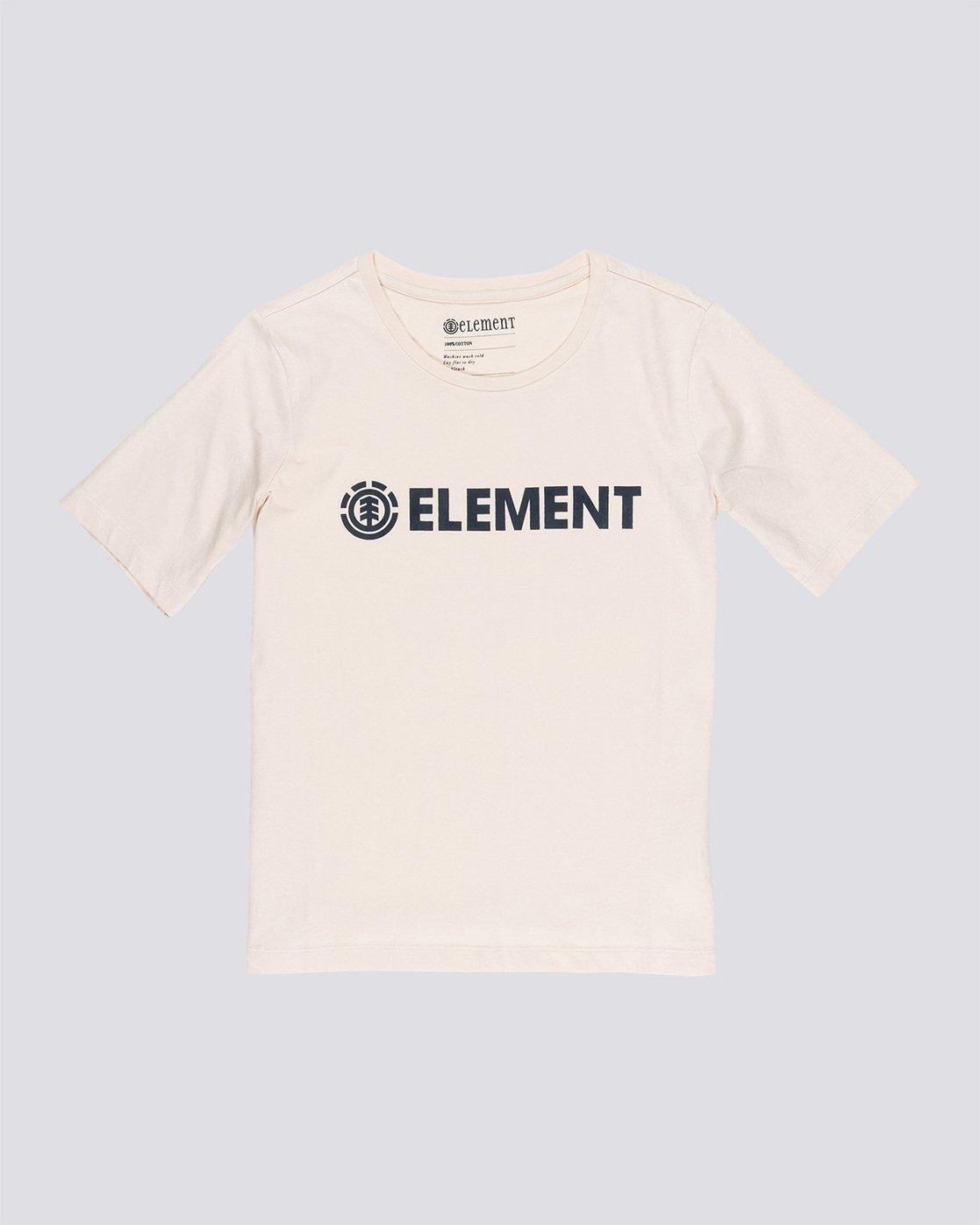 0 Element Logo - T-Shirt White Q3SSA3ELF9 Element