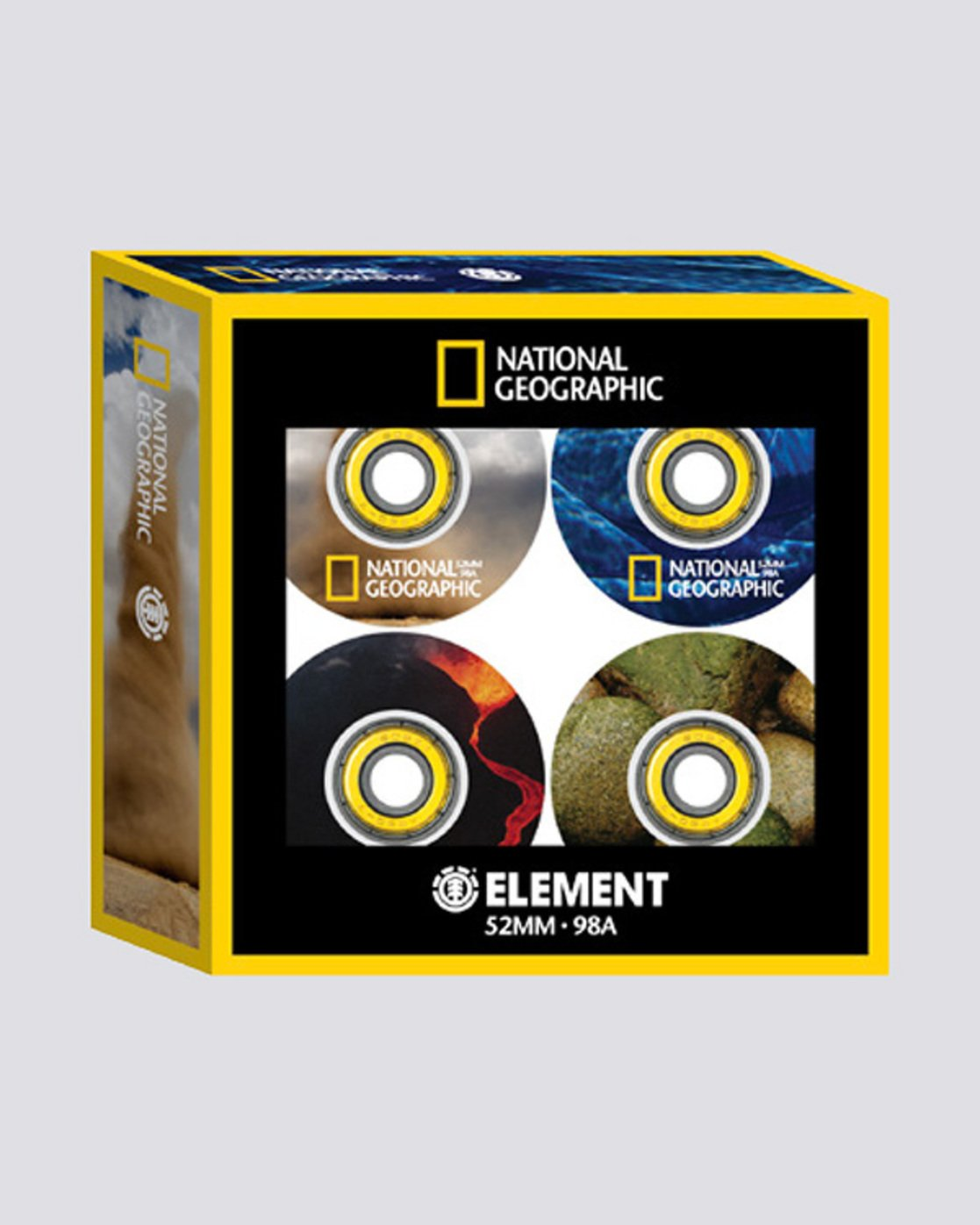 1 Nat Geo WWFE - 52 mm Wheels  Q4WHA3ELF9 Element