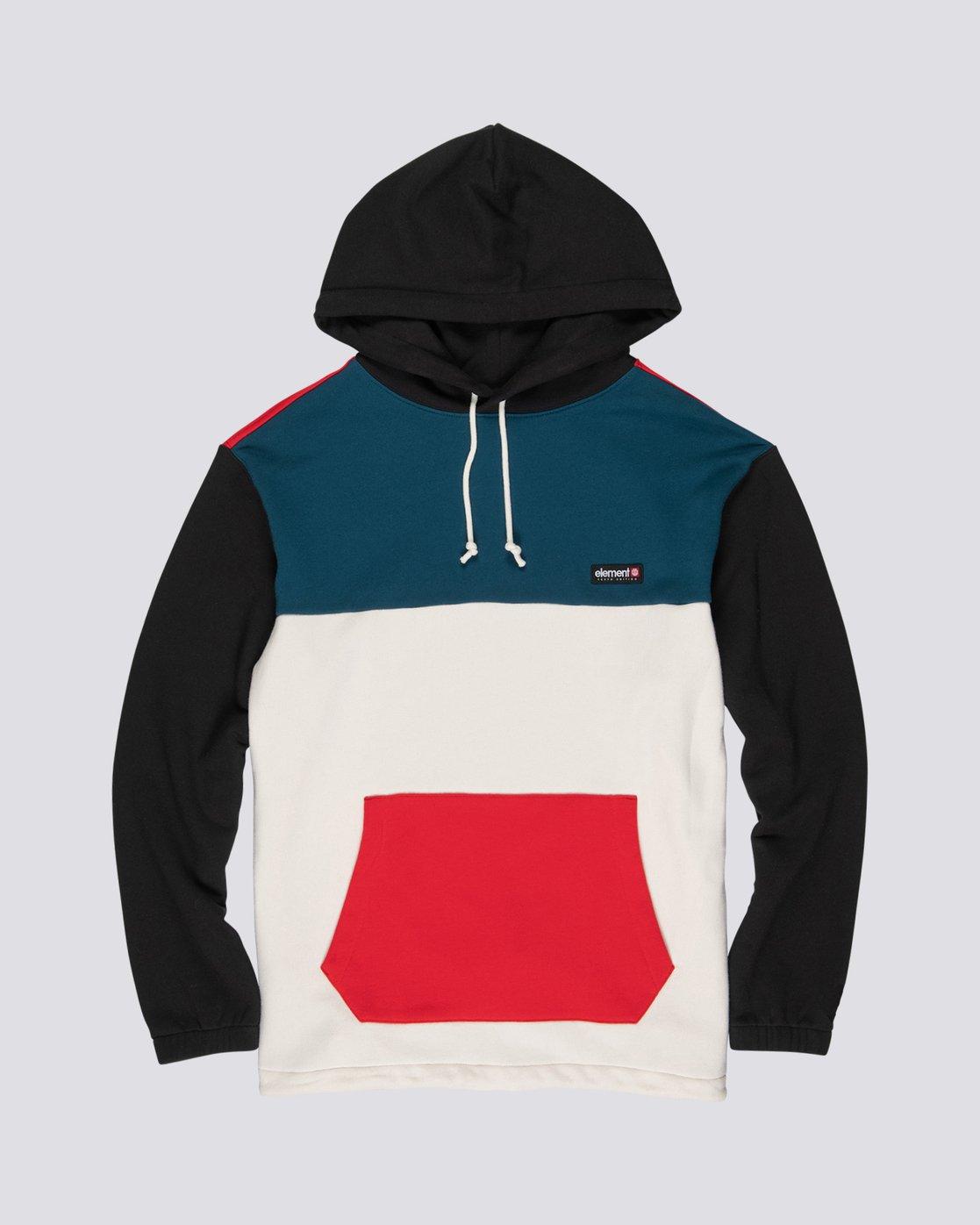 4 Primo Tokyo Block - Sweatshirt für Herren  S1FLB2ELP0 Element