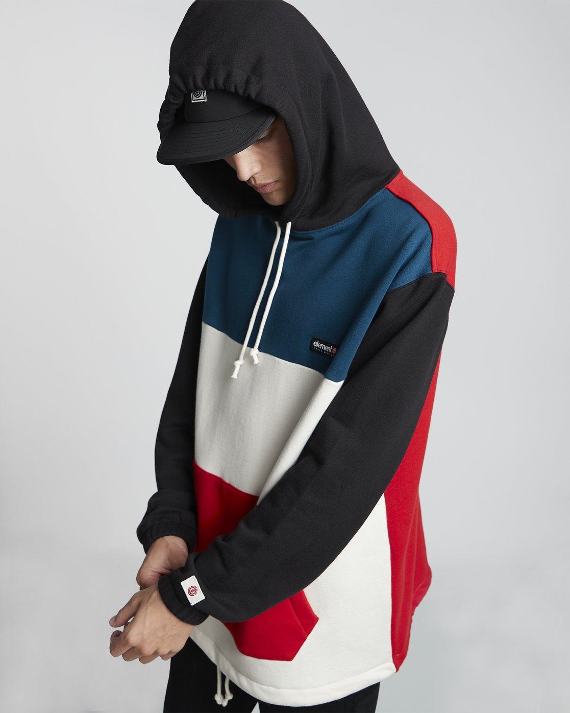 2 Primo Tokyo Block - Sweatshirt für Herren  S1FLB2ELP0 Element