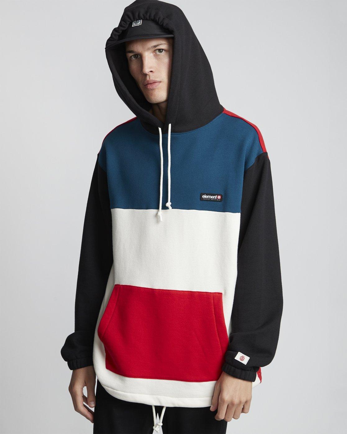 0 Primo Tokyo Block - Sweatshirt für Herren  S1FLB2ELP0 Element