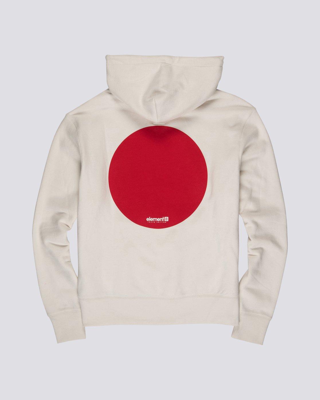 4 Primo Tokyo Dot - Felpa da Uomo White S1HOA7ELP0 Element