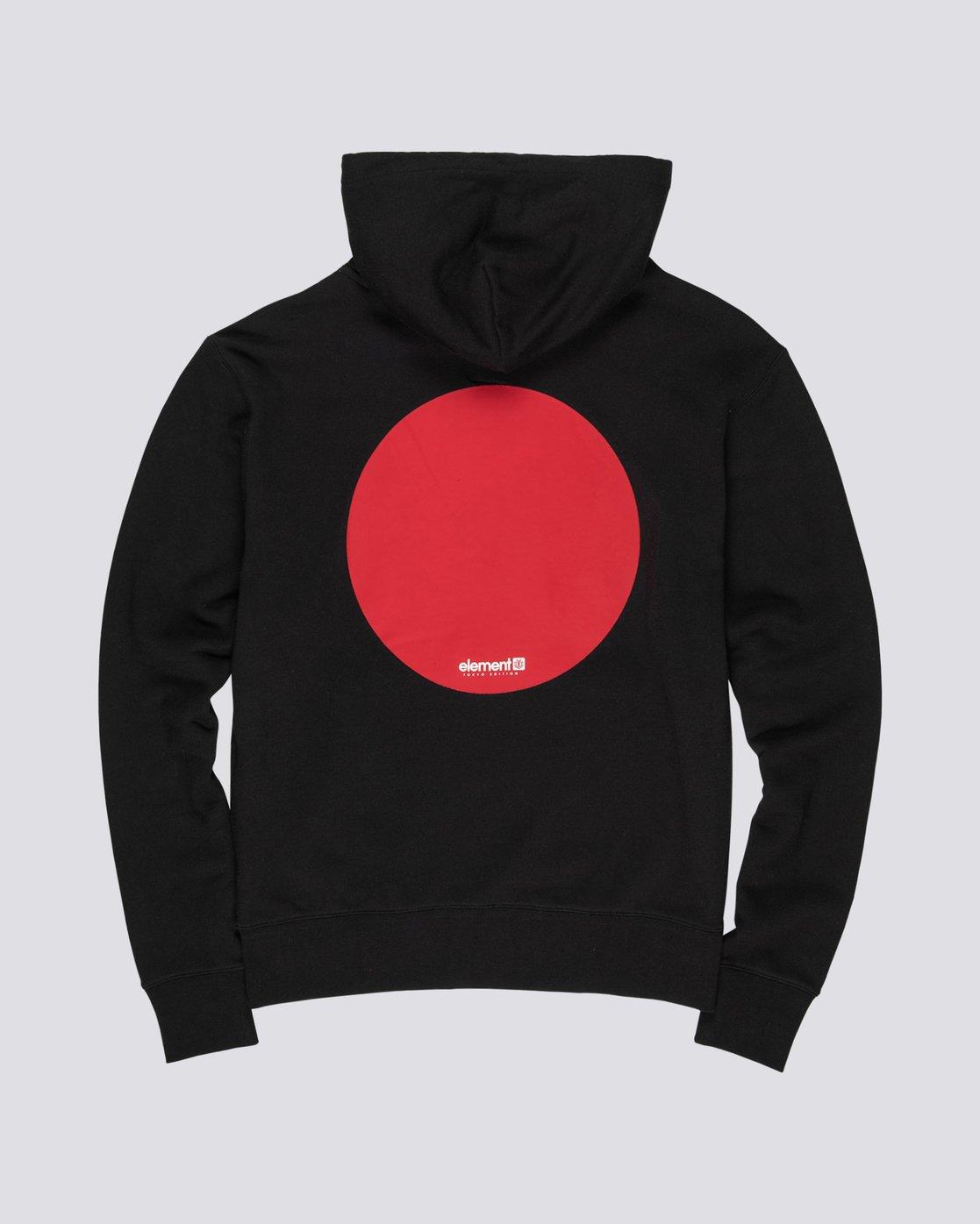 4 Primo Tokyo Dot - Sweatshirt für Herren Schwarz S1HOA7ELP0 Element