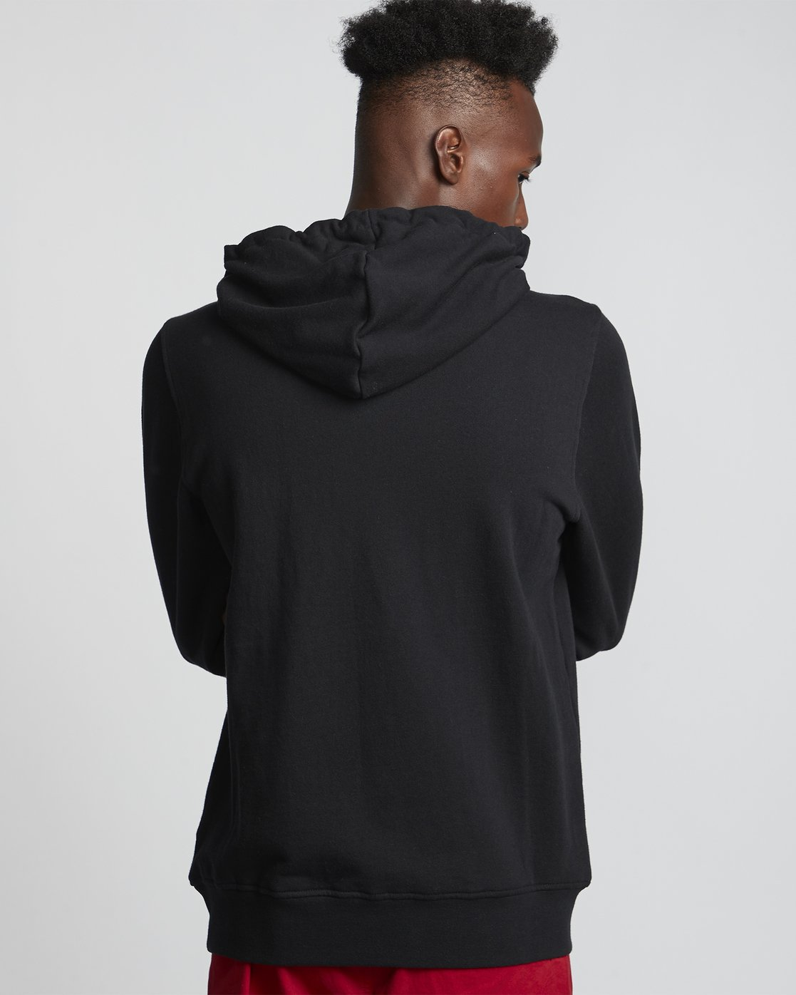 1 Vertical - Sweat à capuche pour Homme Noir S1HOB1ELP0 Element