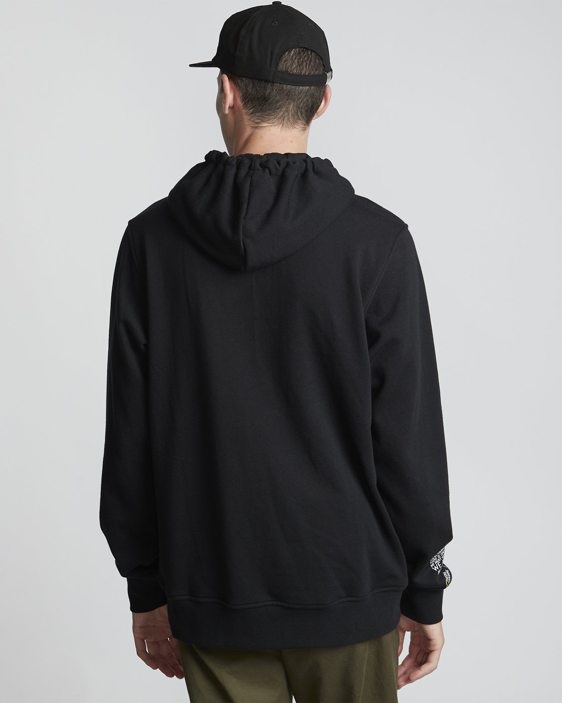 1 National Geographic Optical - Recycled Hoodie for Men Black S1HOC4ELP0 Element