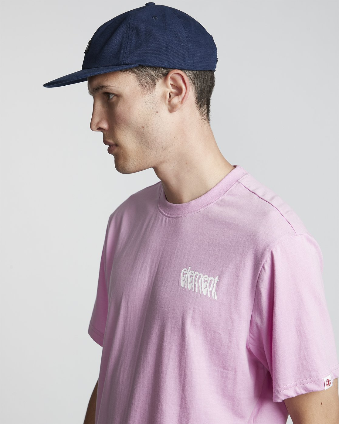 2 Stiles - Camiseta de manga corta para Hombre Violeta S1SSA7ELP0 Element