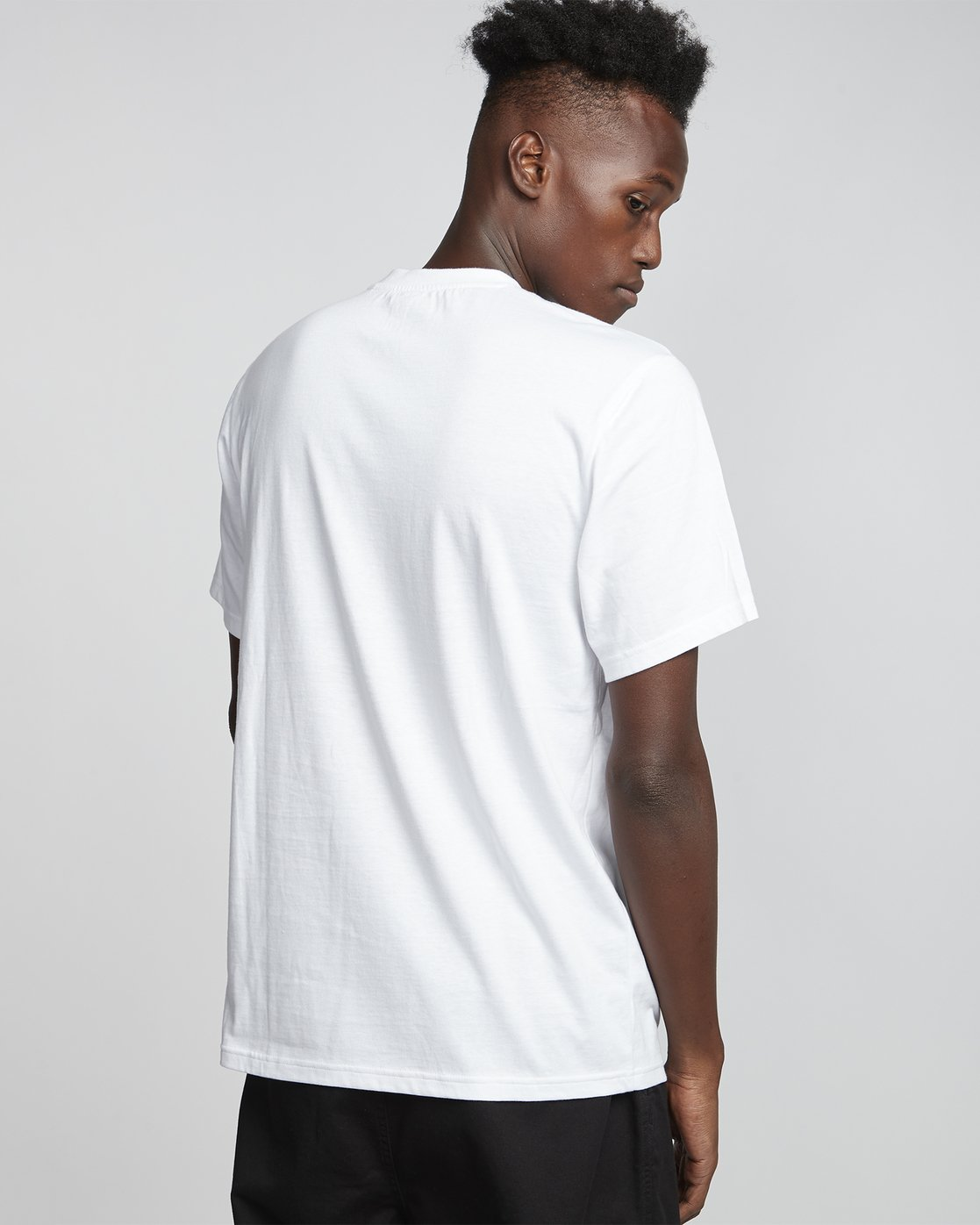 2 Timber! Go East Tree Ghost - Organic Cotton Short Sleeve T-Shirt for Men White S1SSD2ELP0 Element