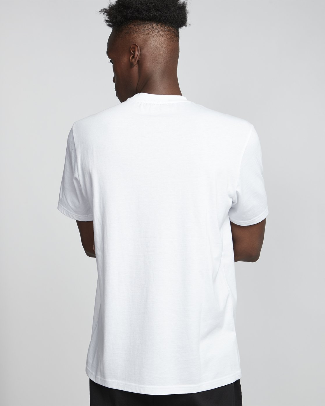 1 Flash - Short Sleeve T-Shirt for Men White S1SSD4ELP0 Element