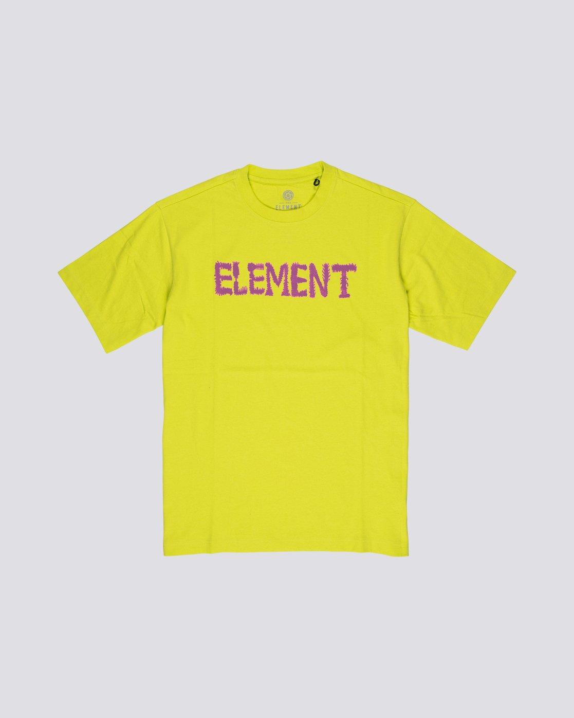 3 Tetsunori Tawaraya Lettering - Short Sleeve T-Shirt for Men  S1SSE2ELP0 Element