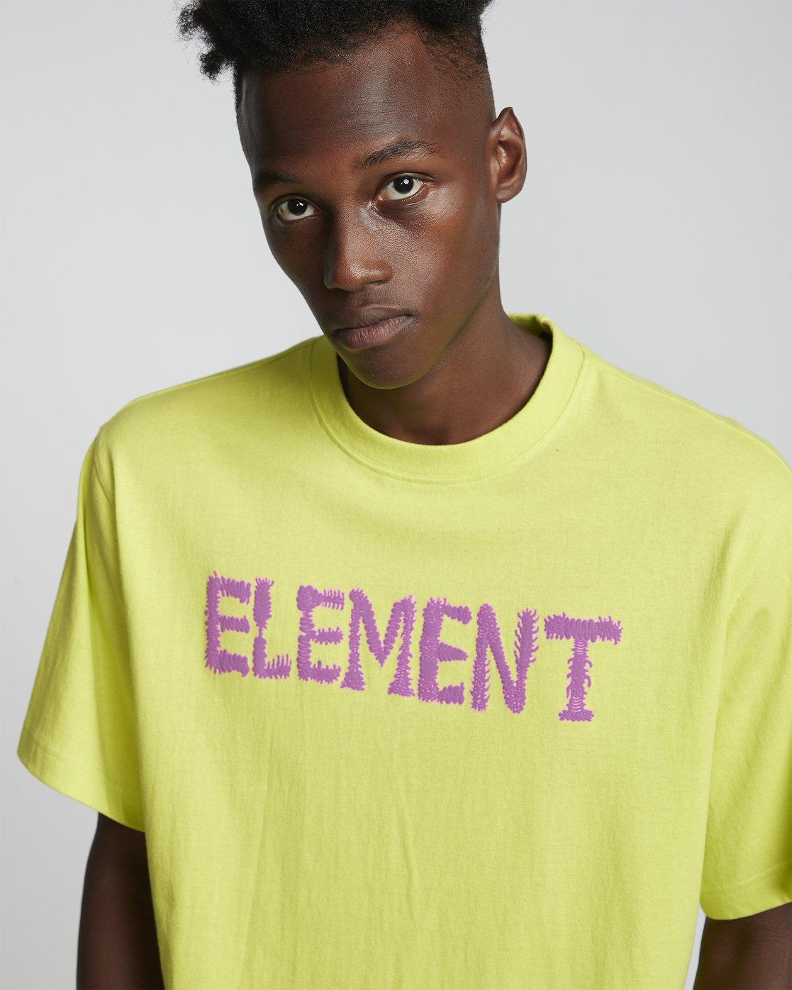 2 Tetsunori Tawaraya Lettering - Short Sleeve T-Shirt for Men  S1SSE2ELP0 Element