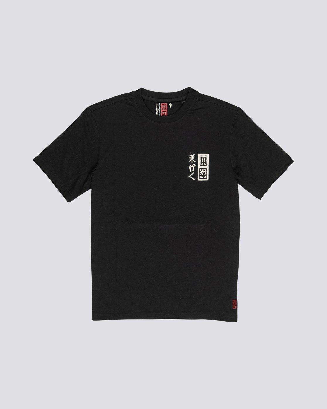 3 Love Passion Death - Short Sleeve T-Shirt for Men Black S1SSF5ELP0 Element