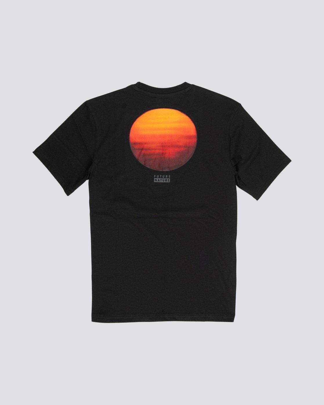 4 National Geographic Sun - Organic Cotton Short Sleeve T-Shirt for Men Black S1SSG8ELP0 Element
