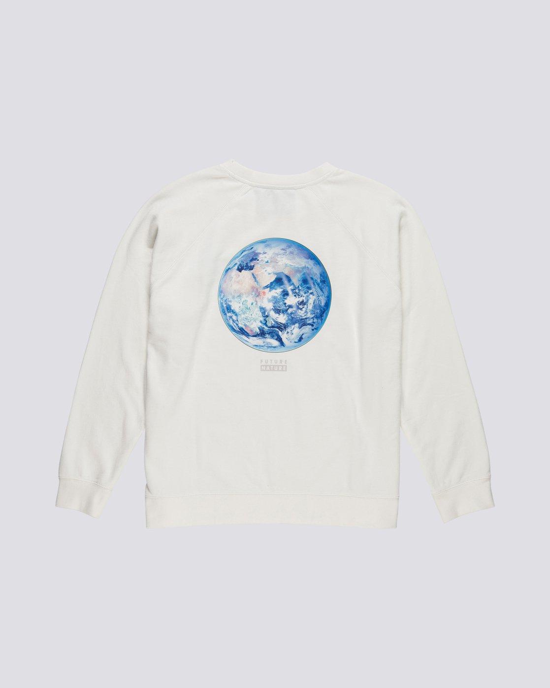 3 Nat Geo - Sweatshirt for Women White S3CRA4ELP0 Element