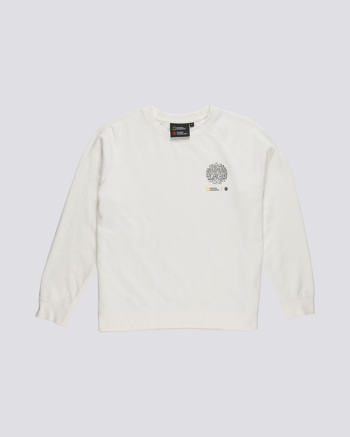 2 Nat Geo - Sweatshirt for Women White S3CRA4ELP0 Element
