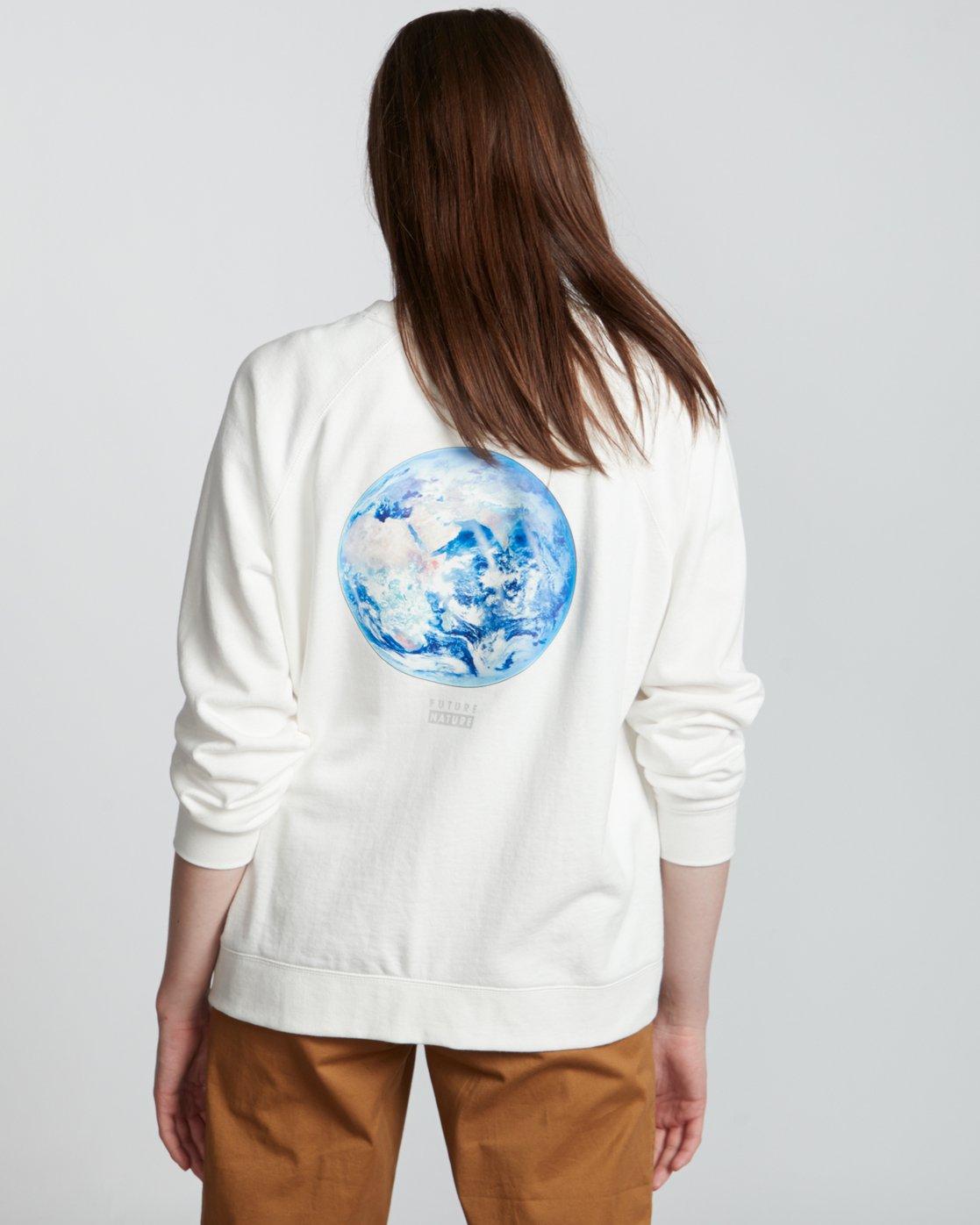 0 Nat Geo - Sweatshirt for Women White S3CRA4ELP0 Element