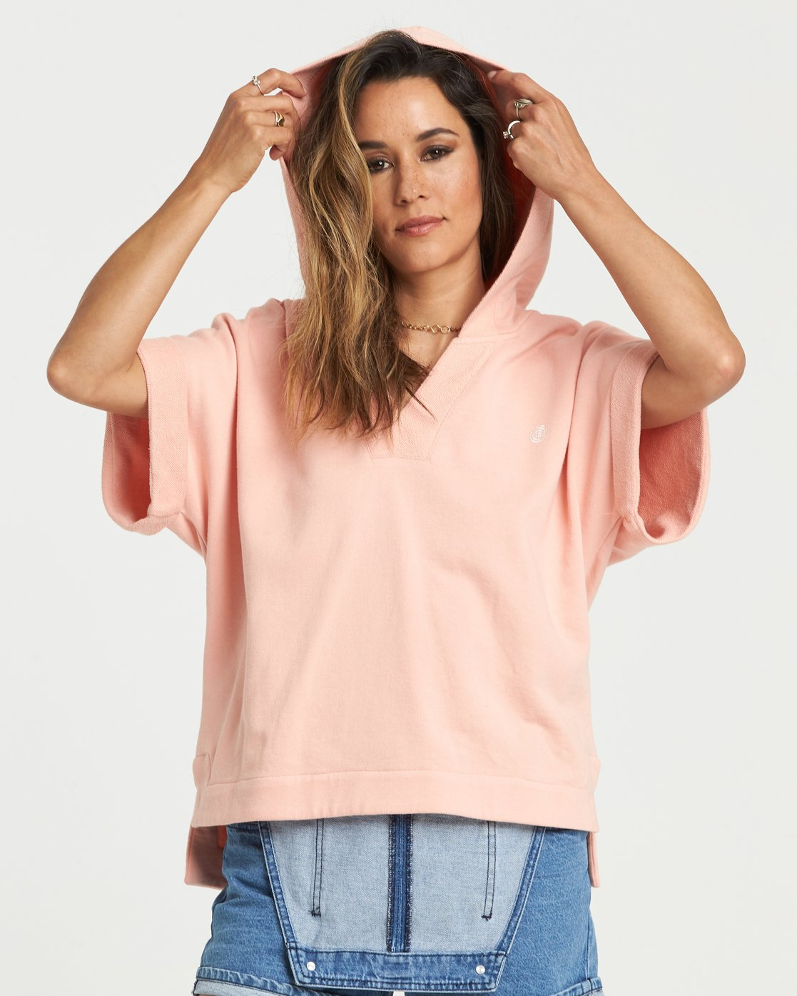 1 Hum Along - Fleece for Women Pink S3FLA1ELP0 Element