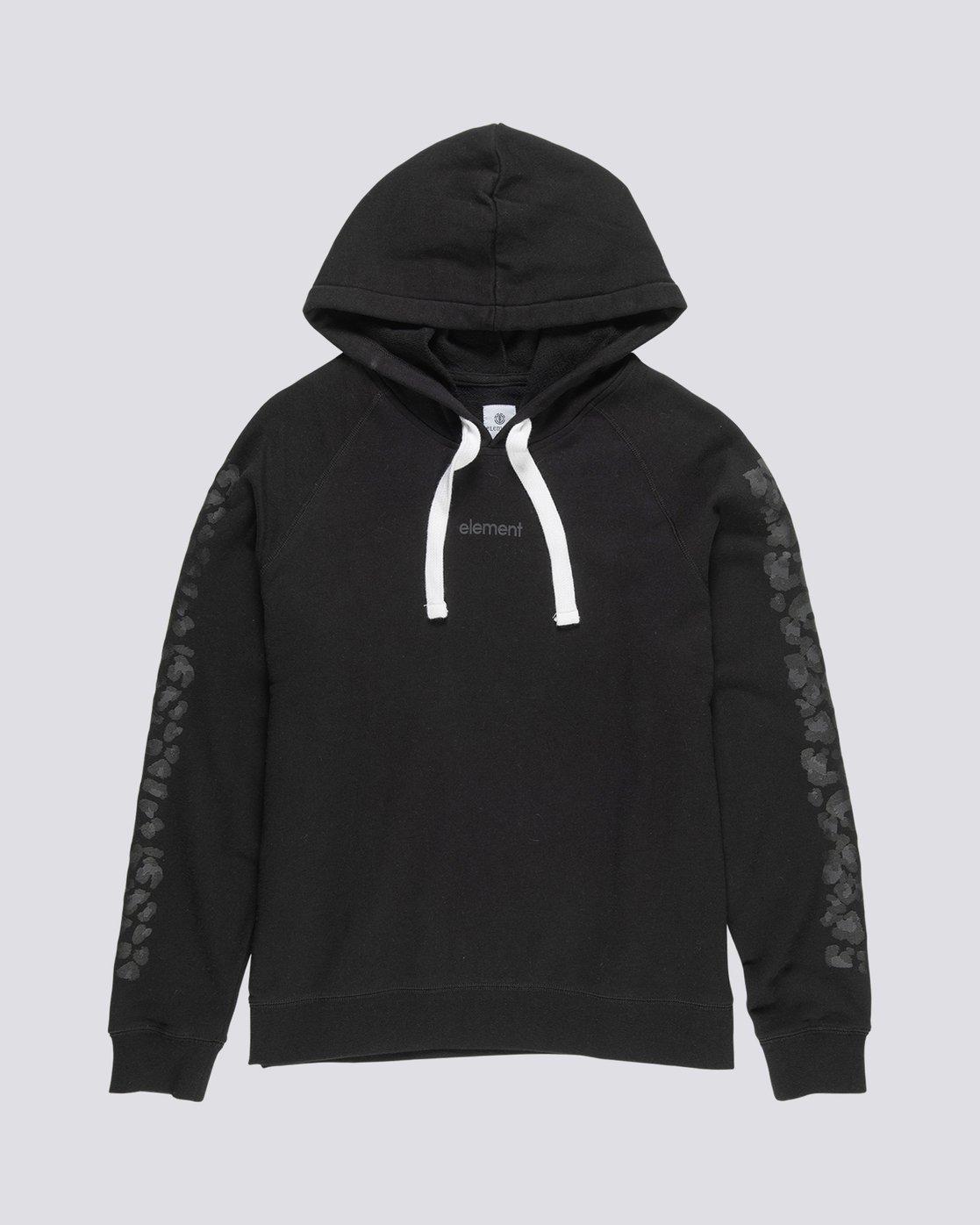 0 Branded - Sweat à capuche pour Femme Noir S3HOA5ELP0 Element