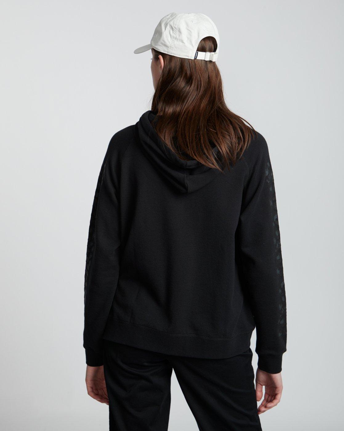 2 Branded - Sweat à capuche pour Femme Noir S3HOA5ELP0 Element