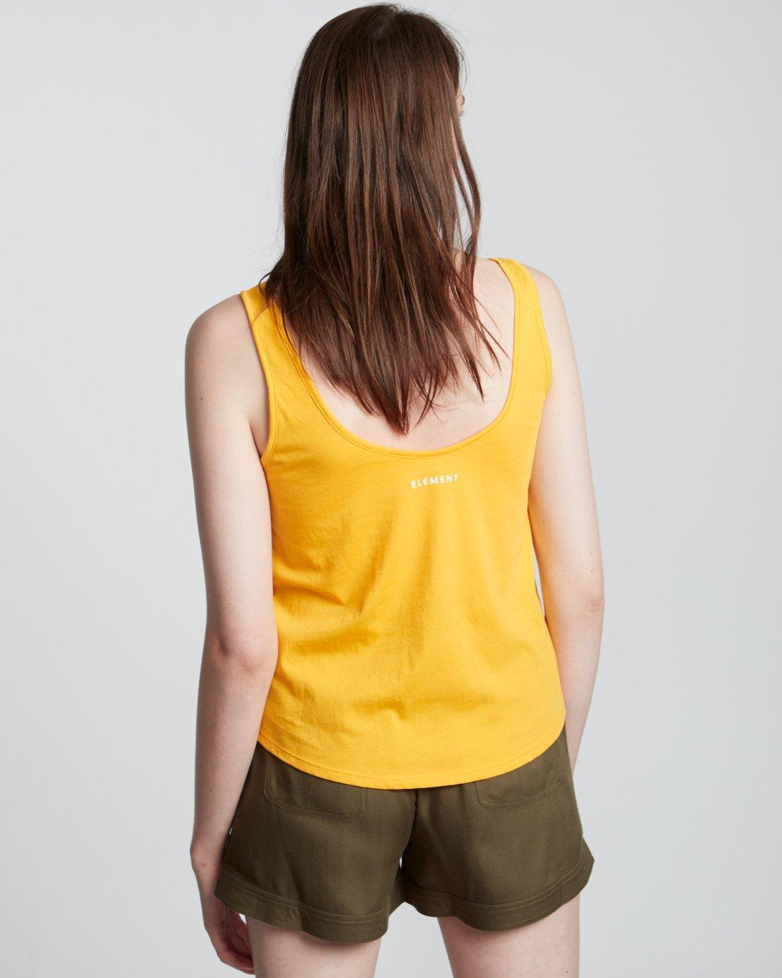 2 Branded Low - Organic Cotton Vest Top for Women  S3SGA4ELP0 Element