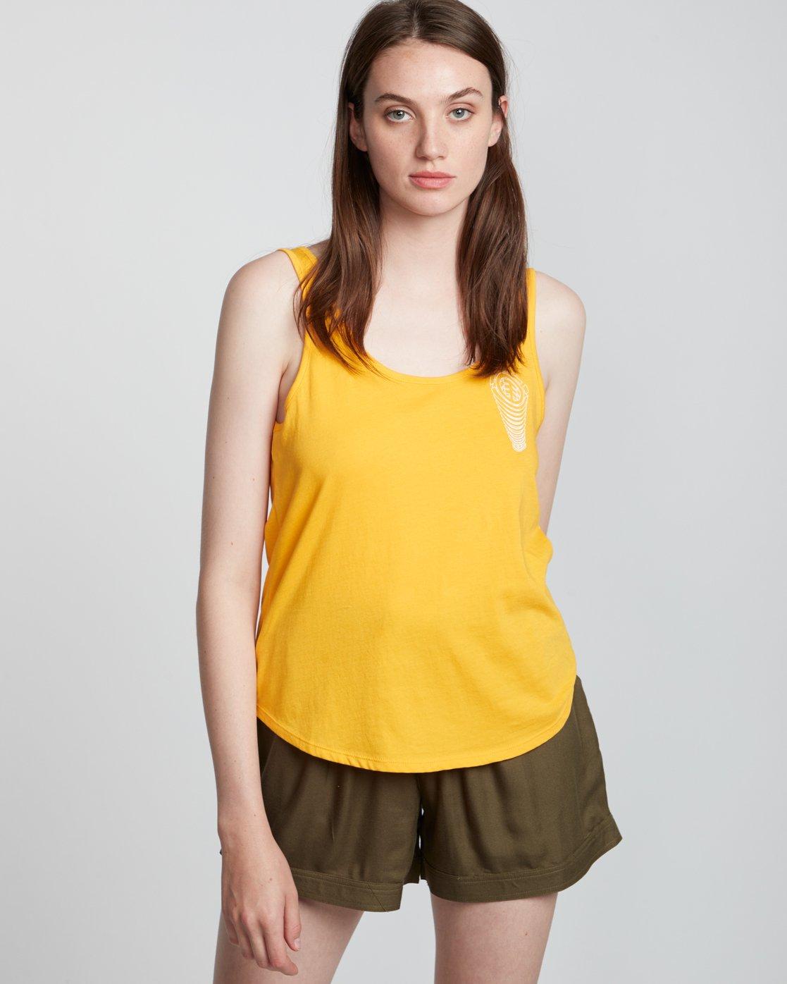 1 Branded Low - Organic Cotton Vest Top for Women  S3SGA4ELP0 Element