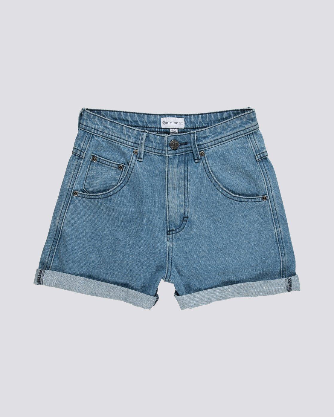 Roxanne Pantalones Cortos De Tiro Alto Para Mujer S3wka4elp0 Element