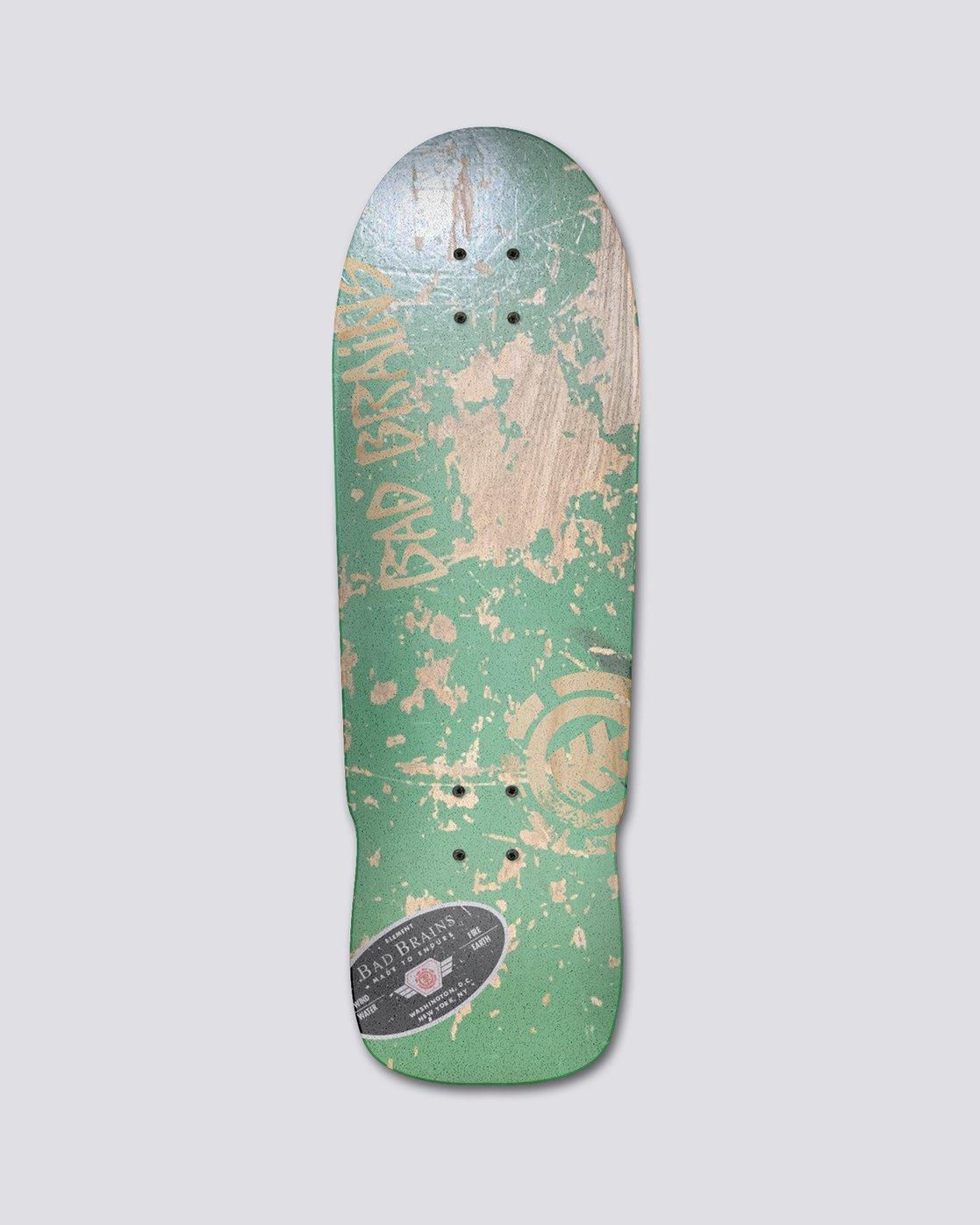 "1 Bad Brains 9.5"" Bad Brains Green Monster Complete - Skateboard  S4CPB6ELP0 Element"