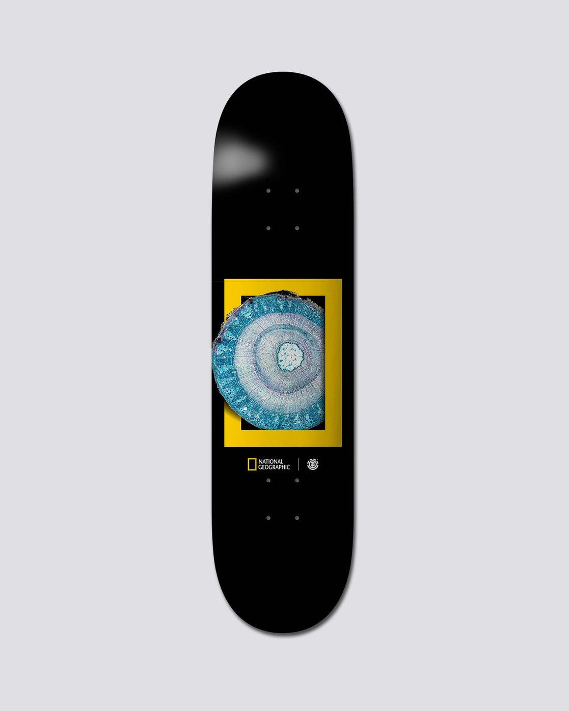 "0 National Geographic 8.25"" Nat Geo Molecule - Skate Decks  S4DCB1ELP0 Element"