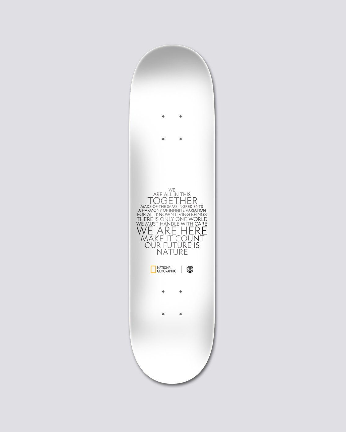 "1 National Geographic 8.1"" Nat Geo Sun - Skateboard Deck  S4DCE2ELP0 Element"