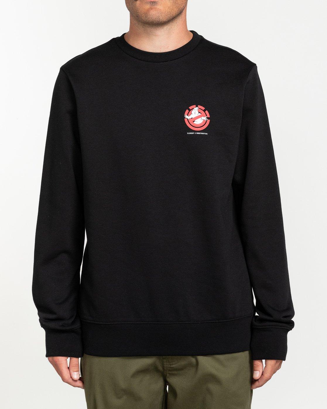 1 Ghostbusters Specter - Sweatshirt for Men Black U1CRB8ELF0 Element