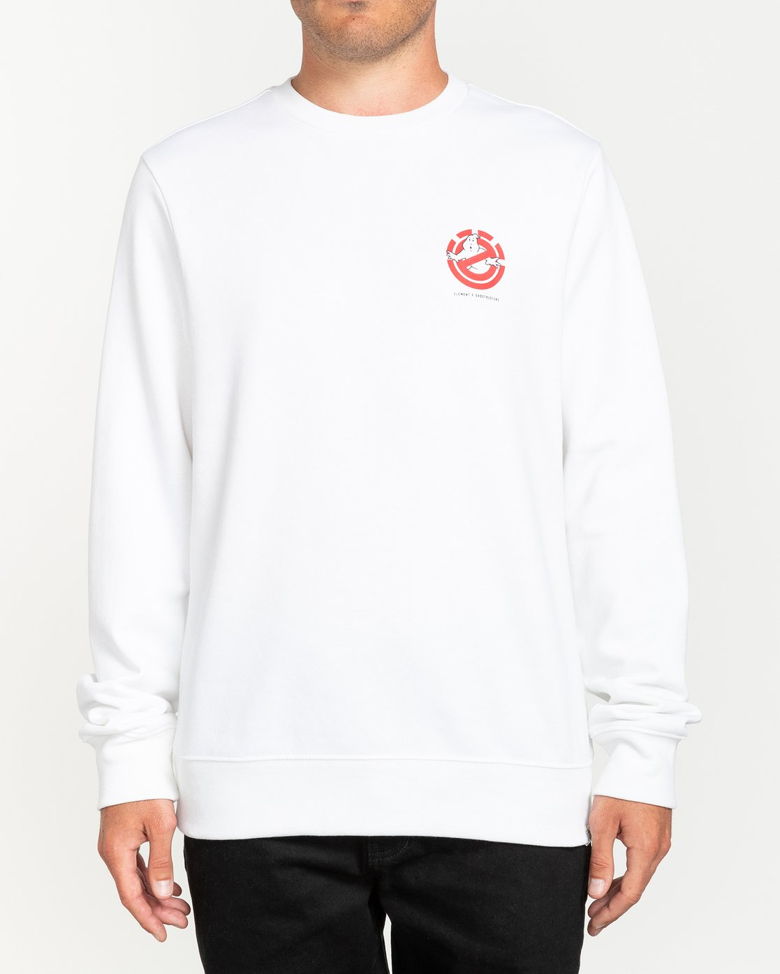 0 Ghostbusters Specter - Sweatshirt for Men White U1CRB8ELF0 Element