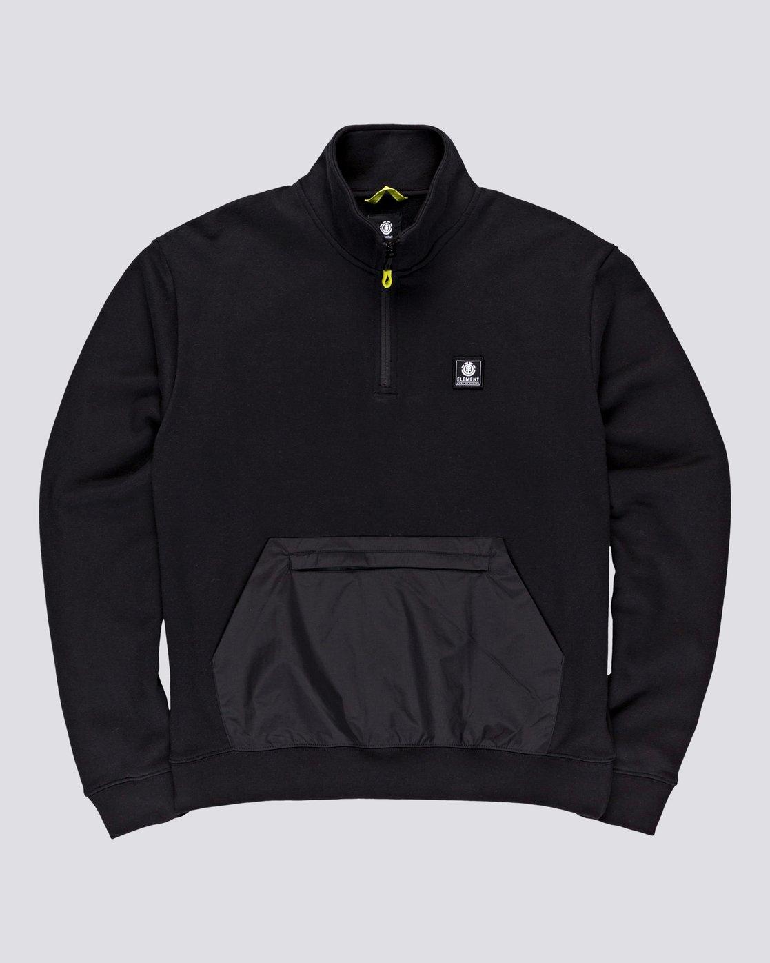 0 Future Nature Team - Track Jacket for Men Black U1FLA2ELF0 Element