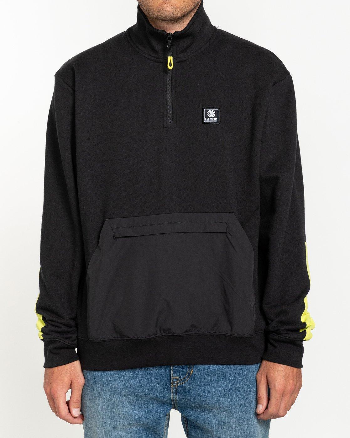 2 Future Nature Team - Track Jacket for Men Black U1FLA2ELF0 Element