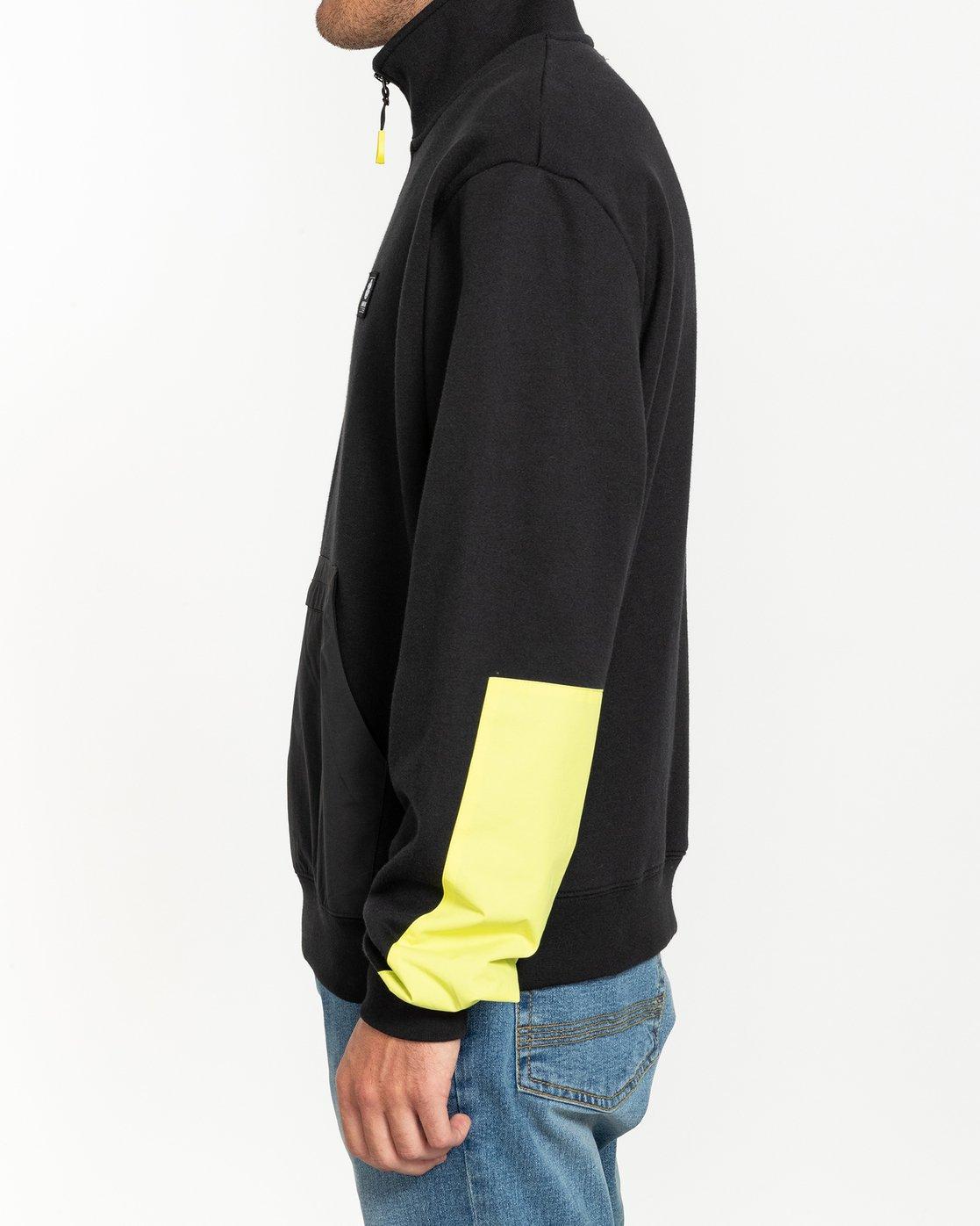 3 Future Nature Team - Track Jacket for Men Black U1FLA2ELF0 Element