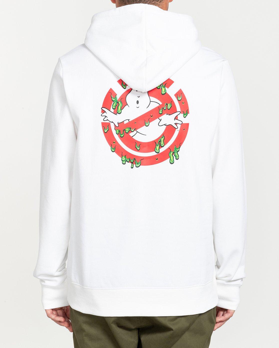 0 Ghostbusters Phantasm - Hoodie for Men White U1HOD9ELF0 Element