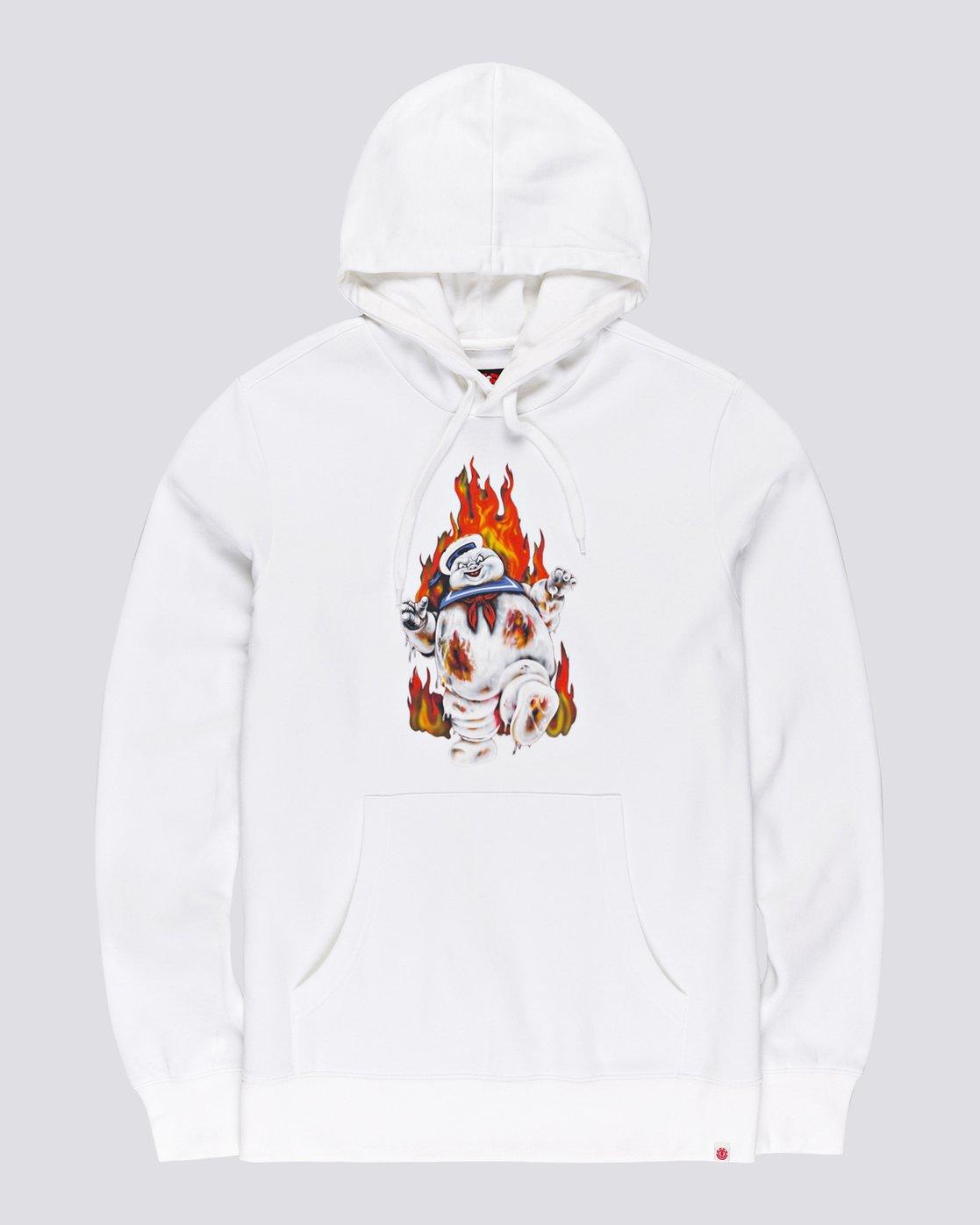 3 Ghostbusters Inferno - Hoodie for Men White U1HOE4ELF0 Element