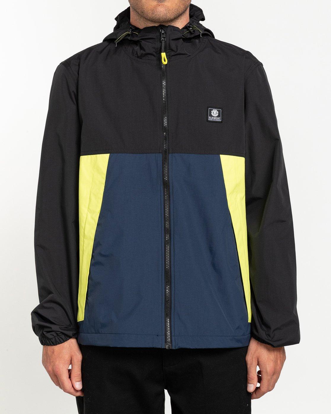 1 Future Nature Koto - Water-Resistant Jacket for Men Blue U1JKA5ELF0 Element