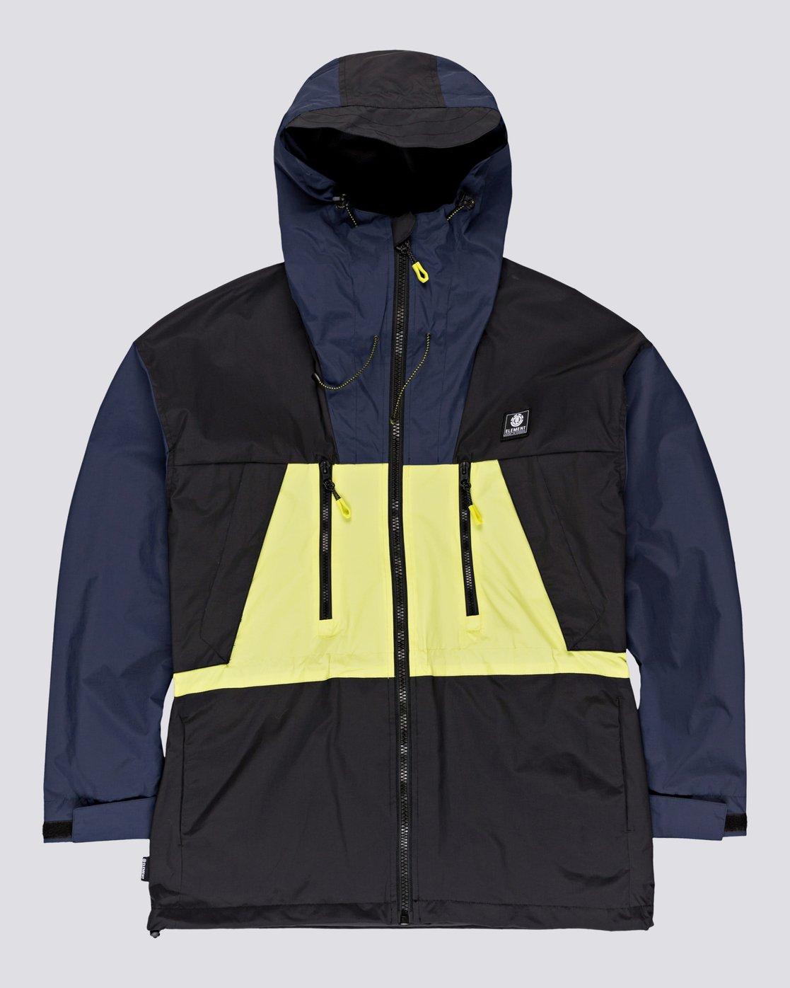 0 Future Nature Koto - Packable Water-Resistant Jacket for Men Blue U1JKA7ELF0 Element