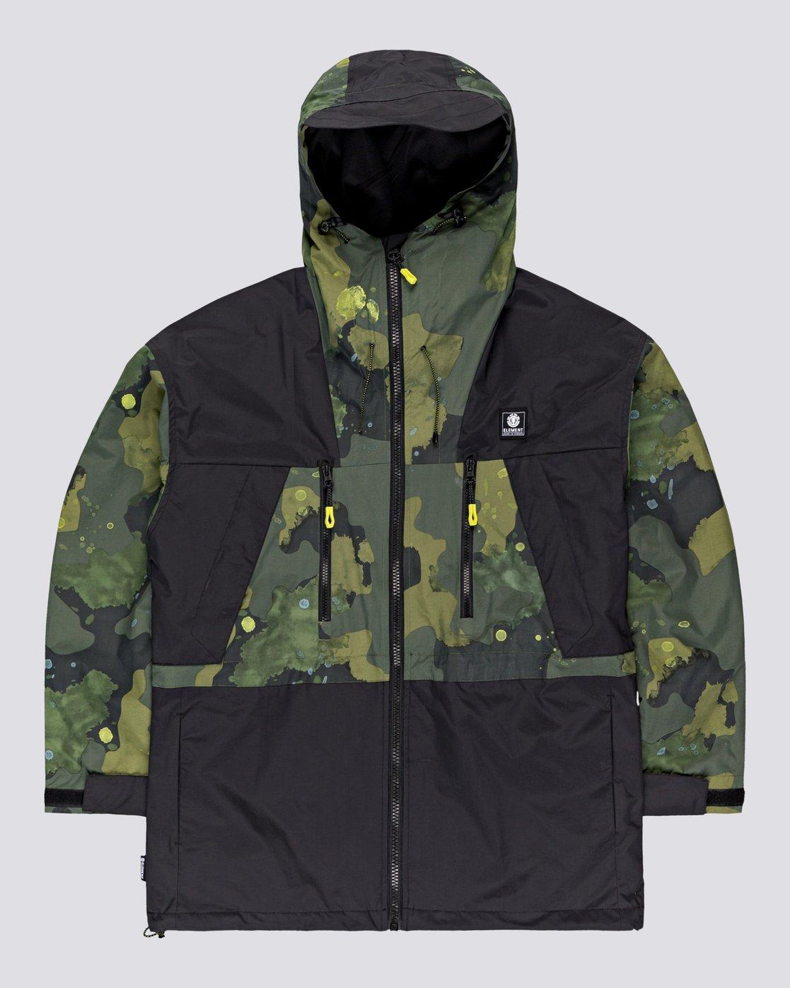 0 Future Nature Koto - Packable Water-Resistant Jacket for Men  U1JKA7ELF0 Element