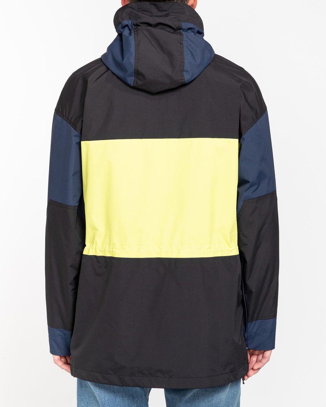 4 Future Nature Koto - Packable Water-Resistant Jacket for Men Blue U1JKA7ELF0 Element