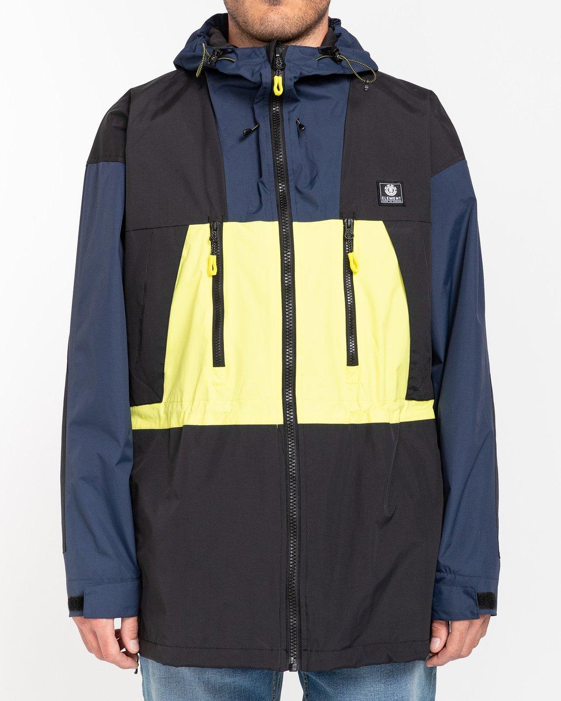 1 Future Nature Koto - Packable Water-Resistant Jacket for Men Blue U1JKA7ELF0 Element