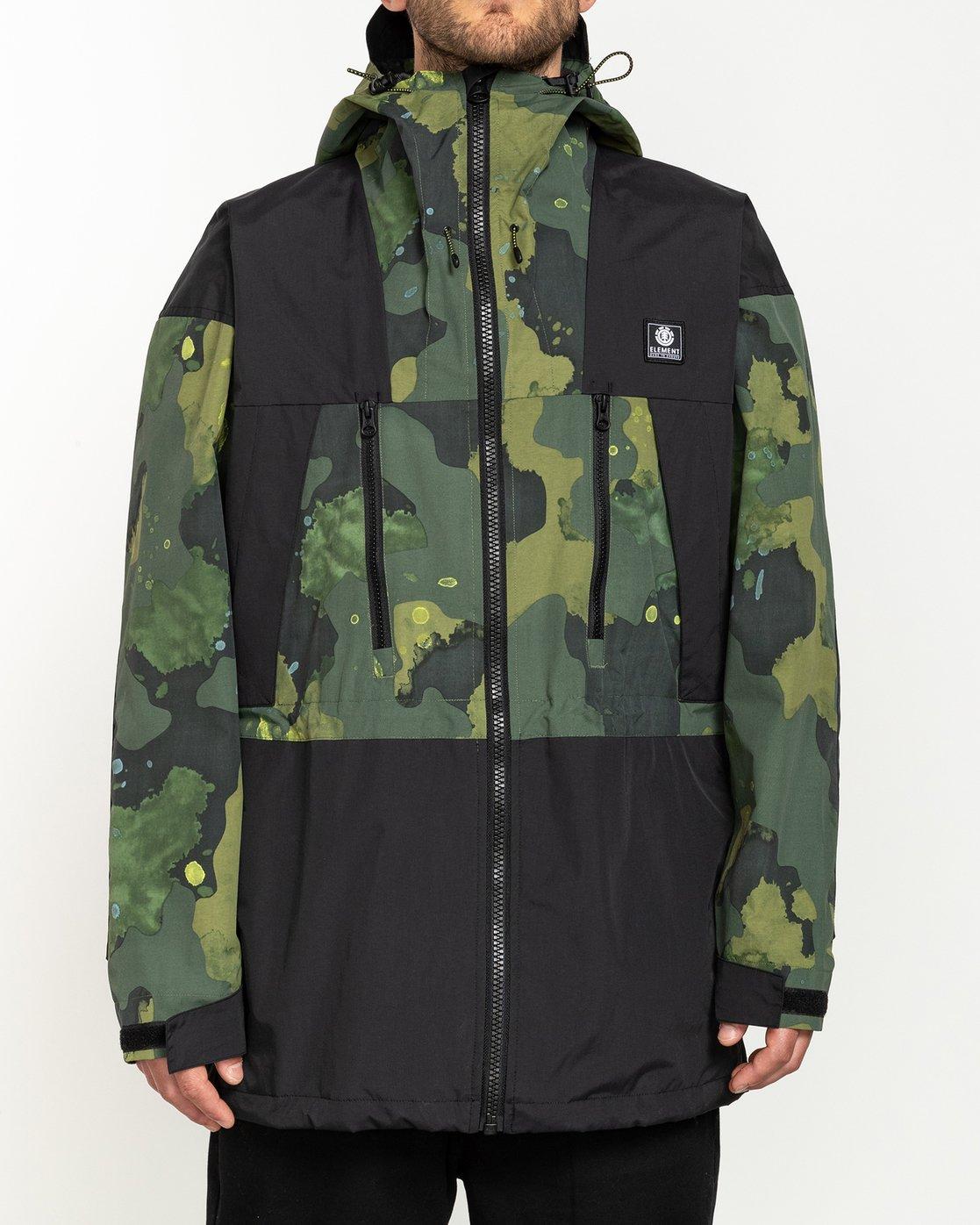 1 Future Nature Koto - Packable Water-Resistant Jacket for Men  U1JKA7ELF0 Element