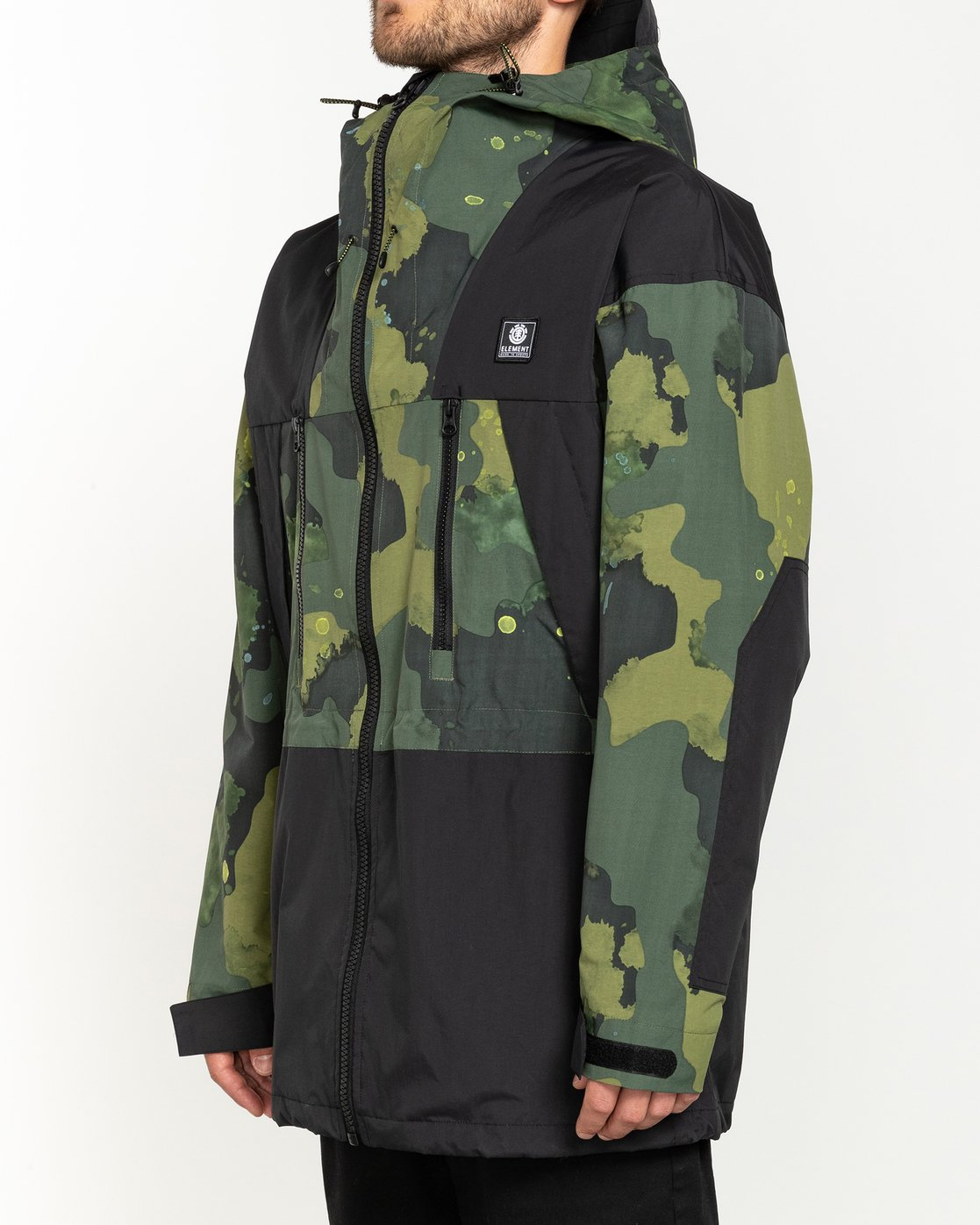 2 Future Nature Koto - Packable Water-Resistant Jacket for Men  U1JKA7ELF0 Element