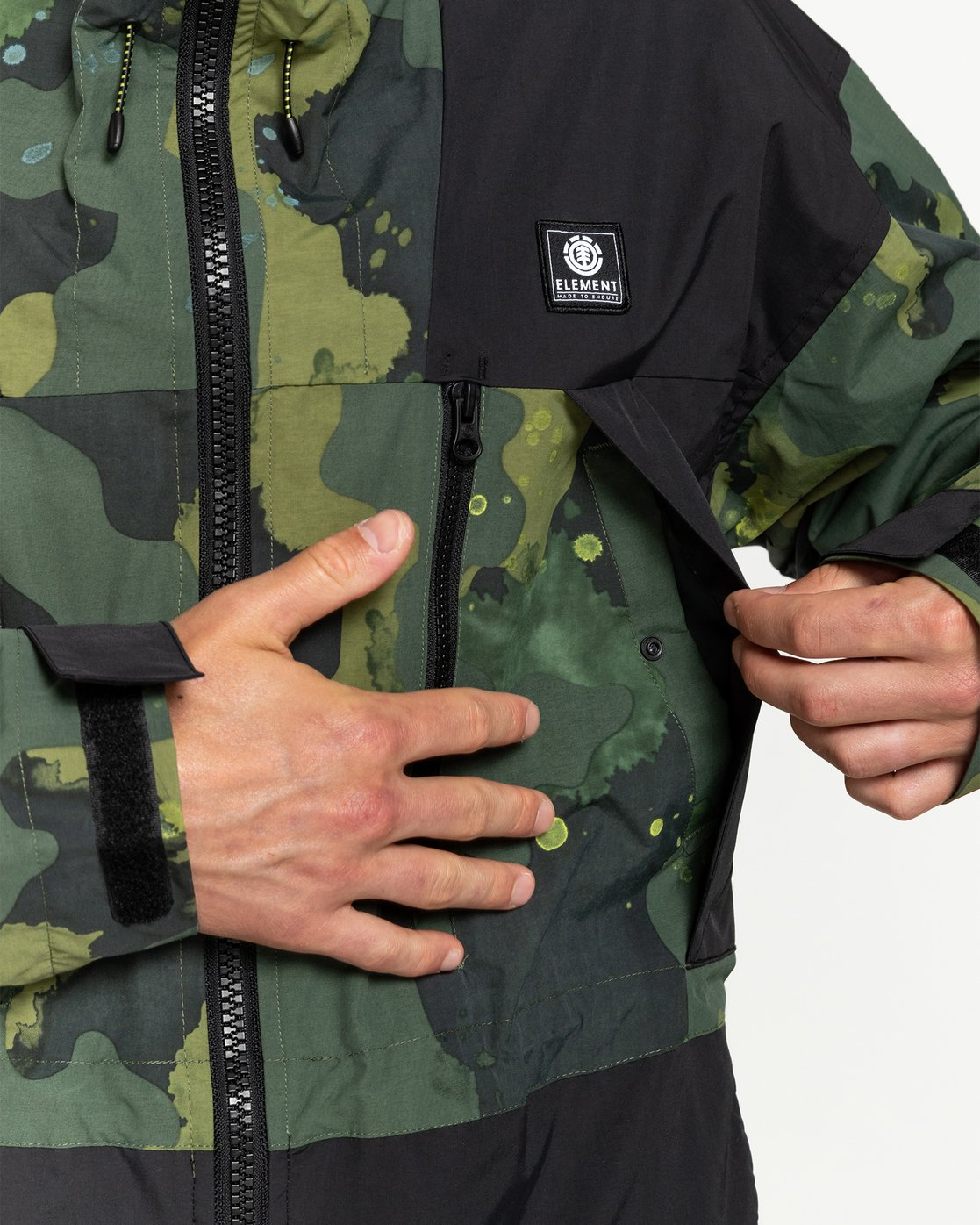 3 Future Nature Koto - Packable Water-Resistant Jacket for Men  U1JKA7ELF0 Element