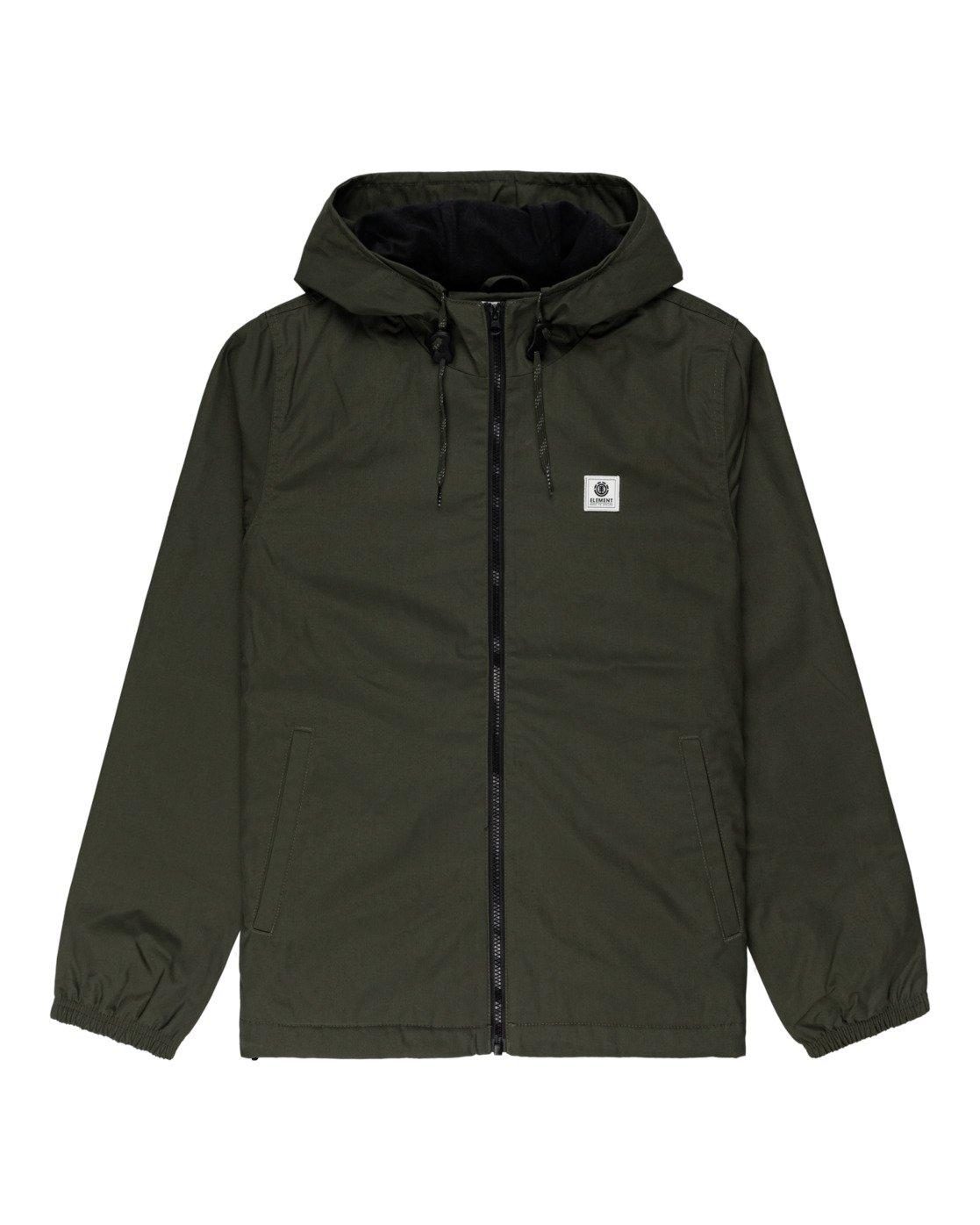 5 Wolfeboro Alder - Water-Resistant Jacket for Men Green U1JKC3ELF0 Element