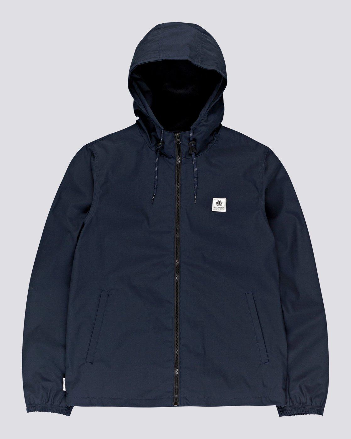 5 Wolfeboro Alder - Water-Resistant Jacket for Men Blue U1JKC3ELF0 Element