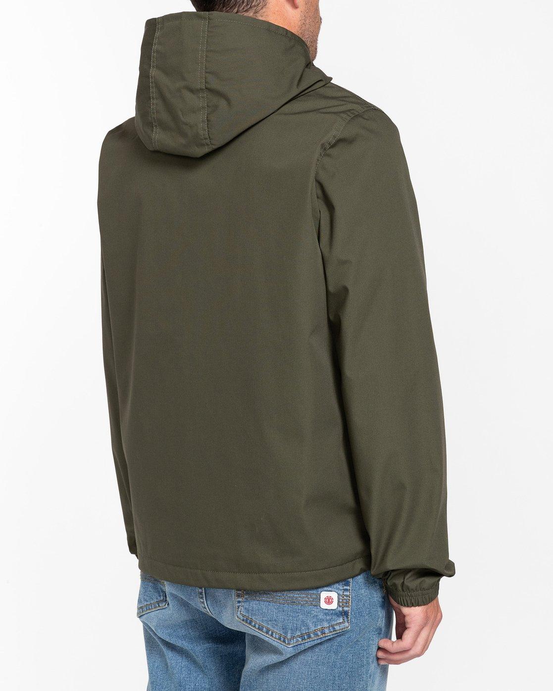 4 Wolfeboro Alder - Water-Resistant Jacket for Men Green U1JKC3ELF0 Element