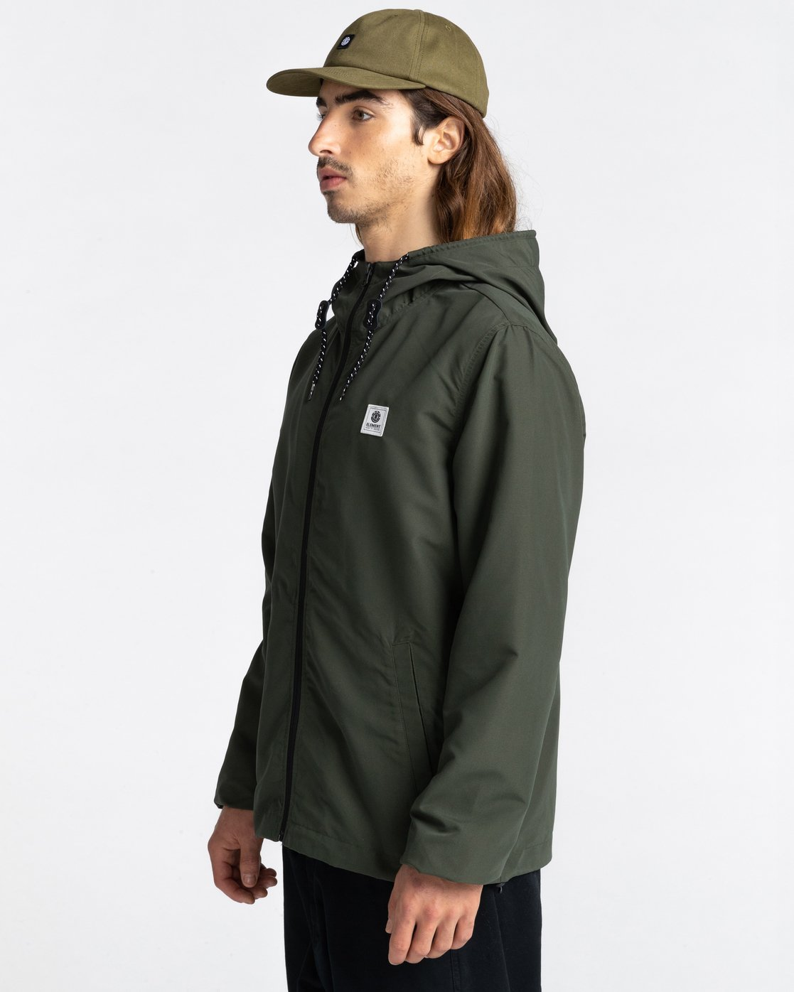 1 Wolfeboro Alder - Water-Resistant Jacket for Men Green U1JKC3ELF0 Element