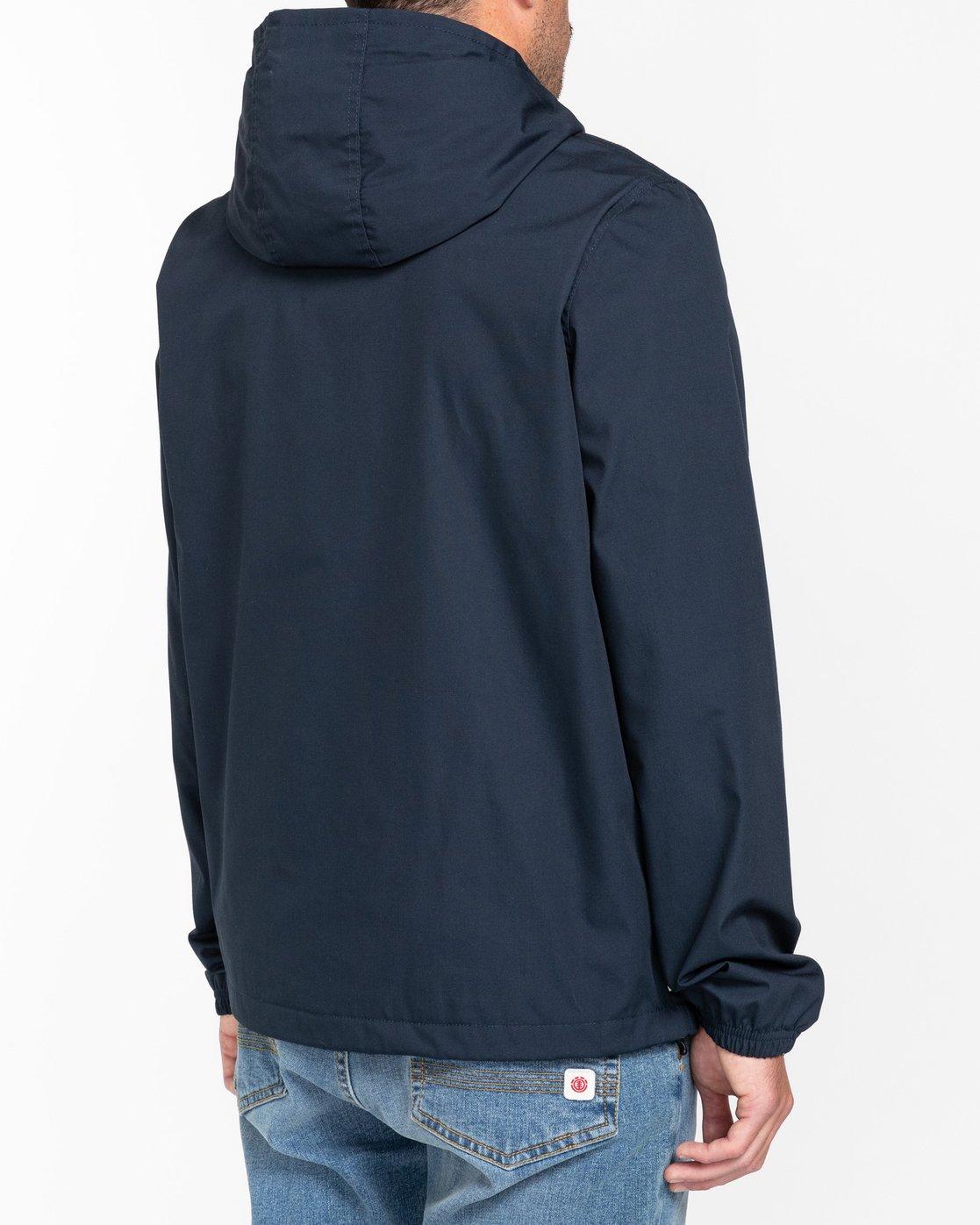 4 Wolfeboro Alder - Water-Resistant Jacket for Men Blue U1JKC3ELF0 Element