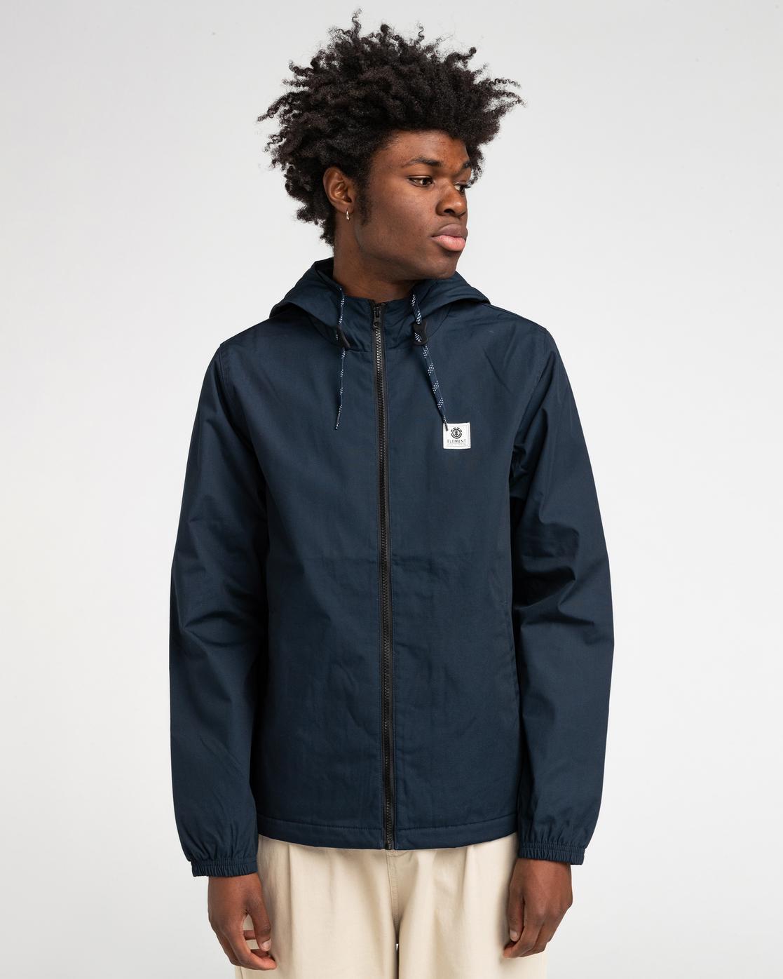 0 Wolfeboro Alder - Water-Resistant Jacket for Men Blue U1JKC3ELF0 Element